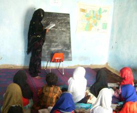 Education is crucial for the advancement of Afghan women.