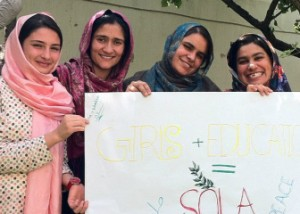 SOLA provides Afghan young women with  educational opportunities.