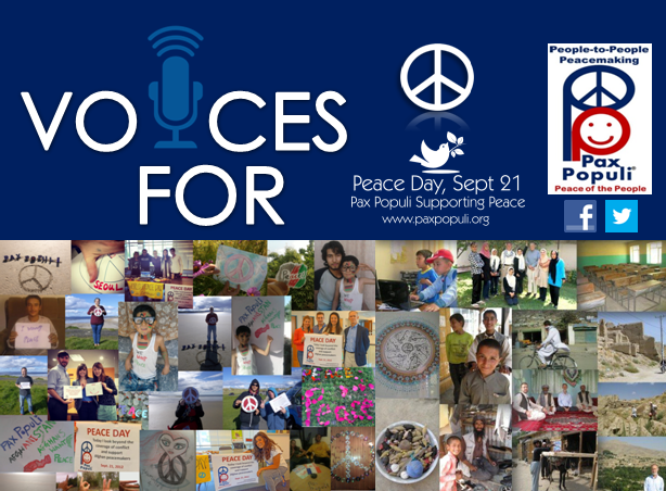 Offical Peace Day Poster